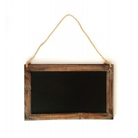 Rustic Chalk Board Vintage Wooden Blackboard Shabby Message Memo Wedding Sign 3700447126673  112521147568