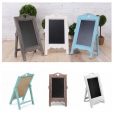 Vintage Chalk Board Blackboard Memo Message Board Wedding Kitchen Notes Signs   222877136355