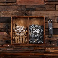 Beer Cap Holder Personalized Shadow Box Bottle Opener Barware Man Cave Woman Pub   262909677677