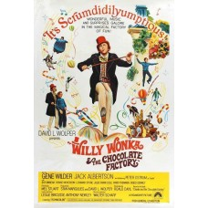 Willy Wonka & the Chocolate Factory Movie POSTER 27 x 40 Gene Wilder AA LICENSED   172463167989