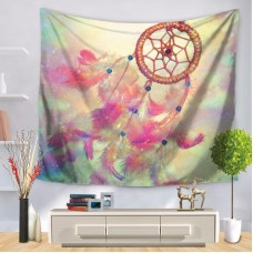 Dream Catcher Tapestry Wall Hanging Fabric Romantic Colorful Bohemian Feather   123065345795