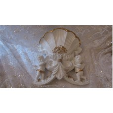 CHERUB WALL POCKET VASE   323369595842
