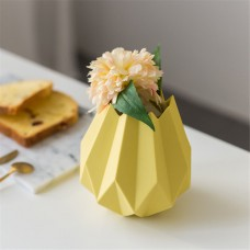 Creative Origami Vase Ceramic Small Planter Pot Home Office Desktop Vase Decor   163087443027
