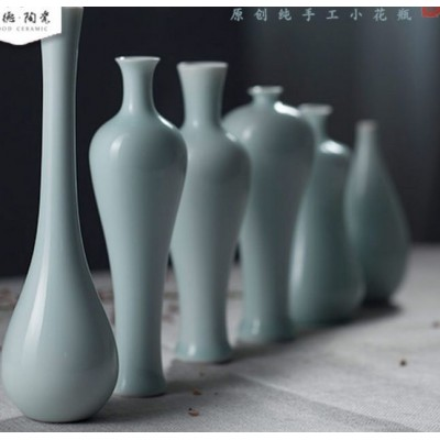 Exquisite handmade ceramic vase crafts Chinese-style Decoration home Decoration   311756854952