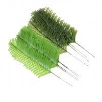 5pcs Lifelike Green Palm Branch Leaves Wedding Party Home Decor 38cm  Pip BIYK   183265188835