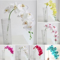 Artificial Butterfly Orchid Silk Flower Bouquet Wedding Party Holiday Fake Decor   173075291226