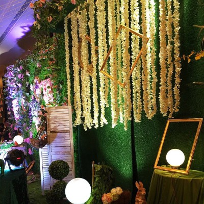 New Fake Artificial Flower Hanging Garland Plants Ivy Vine Wedding Home Decor   323395914698
