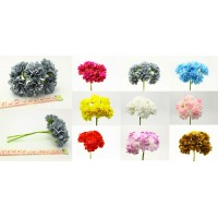 New Flower Bouquet Carnations Silk Artificial Flowers Room Wedding Decor DIY   183270416263