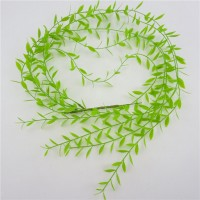 SINGLE LONG GREEN ARTIFICIAL PLASTIC FERN GREEN LEAVE FOLIAGE WEDDING FLORAL   302770210510