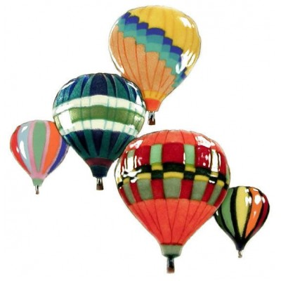 Balloons In Flight Wall Art Decor Sculpture by Bovano of Cheshire #W681   252462477555