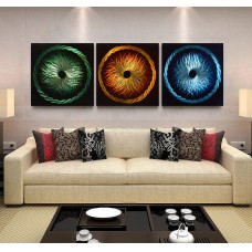 Metal Wall Art Modern Handcrafted Sculpture Painting Abstract Home Decor 888107081029  222507454782