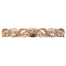 "Lion Head Horizontal Decor / Applique. Over 32"" long   162540702990"