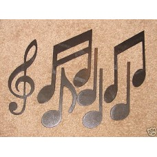 Metal Music Note Wall Art Mome Decor Musical MUSICAL Notes   192022984586