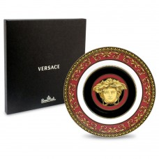 ROSENTHAL VERSACE MEDUSA RED PLATE 18CM W/ AUTHENTICITY CARD RRP$169 4012434258540  183379887096
