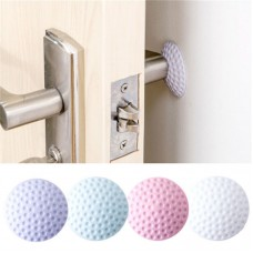 2pcs Wall Anti-Collision Pad Silence Rubber Sticker Pad Door Lock Protection Pad   311765191567