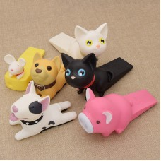 Cartoon Dog Mouse Pig Door Stopper Holder Terrier Figures Cute Toys for Baby   302792706795
