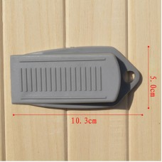 Hot Rubber Wedge Door Stop Stopper Holder Safety Prevent Keep Door From Slamming   262340718006