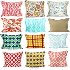 "100% Cotton Printed Fashionable & Decorative Cushion Cover 20"" x 20""  50 x 50 cm   221417553599"