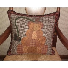 "Country/Primitive/Farmhouse Quilted~Pumpkin Stack ~Pillow~16"" x 16""   153139780394"