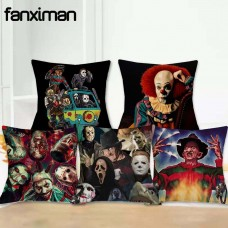 Cushion Cover Pillowcase Horror Character Murderers Chucky Jason  Pillow Covers    332654282089