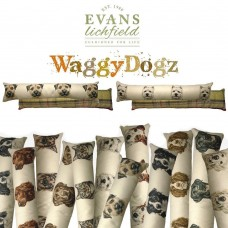 Evans Lichfield WaggyDogz Dog Design Door Draught Excluder Breeze Excluders   253471590075