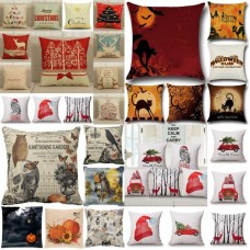 Halloween Pumpkin Xmas Pillow Case Sofa Bed Waist Throw Cushion Cover Home Party   263201710649