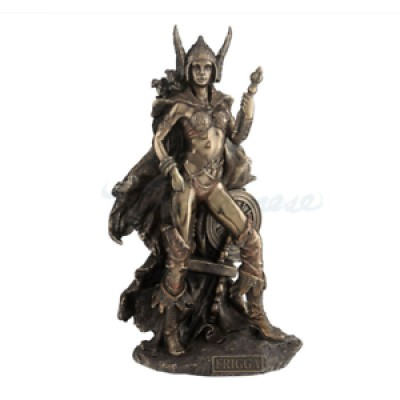 Frigga - Norse Goddess Of Love, Marriage & Destiny Statue *GREAT HOLIDAY GIFT! 6944197132332  223102967521