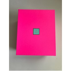 "Kate Spade ""Put A Lid On It"" Large Bright Pink Nesting Storage Photo Box Dorm   173441402642"