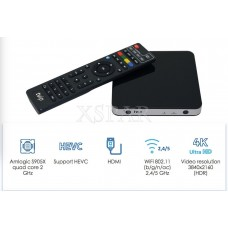 TVIP Set Top Box V.605 4K Ultra IPTV Top Box Linux Android with Remote Control 7640150152025  282969001622