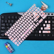 1x Hello Kitty Keyboard Stickers Cute Cartoon Bubble Stickers Laptop Decals   142812397117