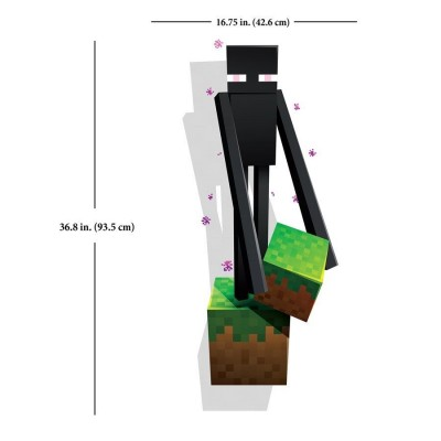 Enderman - Reusable Wall Cling Decal - Minecraft by Jinx   282693334643