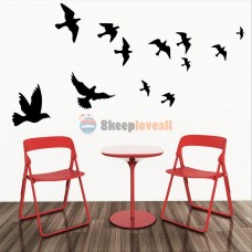 Flying Pigeon Birds DIY Removable Wall Stickers PVC Decal Mural Home Room Decor   111741404853