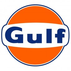 Gulf Vintage Style Vinyl Decal Sticker Gasoline Petroleum Racing - CHOOSE A SIZE   201117551707