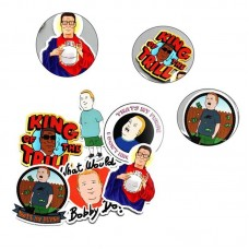 King of the Hill Vinyl Stickers Pack (x6) Decal Sticker 6pcs   401542712784