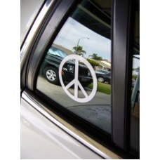 Peace Sign Decal ~ vinyl window laptop car truck SUV bumper sticker 47 colors   151283249612