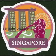 SINGAPORE Design Travel Sticker For Customization Of Suitcase And Favorite Items   202366217686