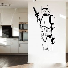 Star Wars Classic Stormtrooper Wall Sticker PVC Mural Decal Removable Home Decor   272988996853