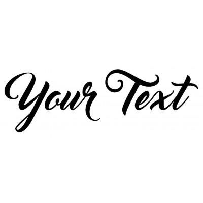 "YOUR TEXT Vinyl Decal Sticker Car Window Bumper CUSTOM 8"" Personalized Lettering 910811718585  122030451563"
